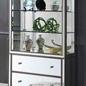 mirrored curio china